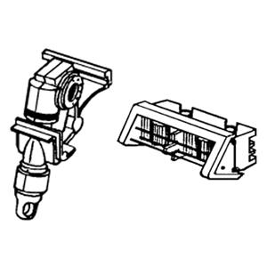 Ενισχυμένος μηχανισμός για 15mm & 25mm αλουμινίου