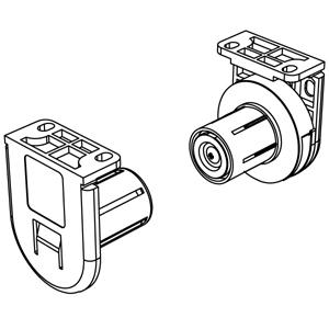 Μηχανισμός περιστροφής Φ25 mm ΛΕΥΚΟΣ