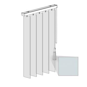 Κατακόρυφες περσίδες PVC - Τύπος 1 - Regular