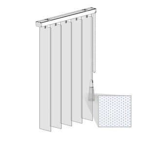 Κατακόρυφες περσίδες PVC - Τύπος 3 - Regular