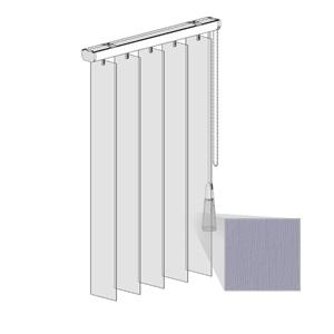 Κατακόρυφες περσίδες PVC - Τύπος 4 - Regular