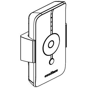 Ασύρματο τηλεχειριστήριο Coulisse ABC-01-W - ΛΕΥΚΟ