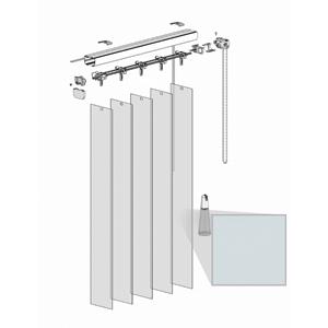 Κατακόρυφες περσίδες PVC - Τύπος 1 - Absolute