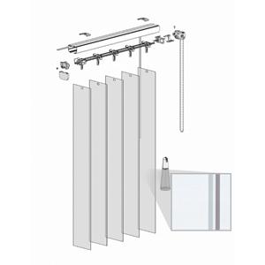 Κατακόρυφες περσίδες PVC - Τύπος 2 - Absolute