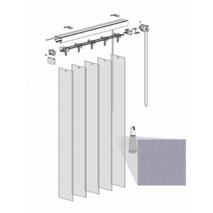 Κατακόρυφες περσίδες PVC - Τύπος 4 - Absolute