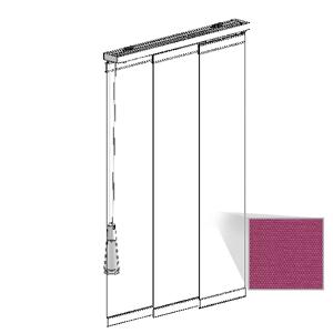 Μηχανισμός panel με ύφασμα BERLIN B/O
