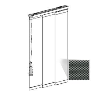 Μηχανισμός panel με ύφασμα SCREEN