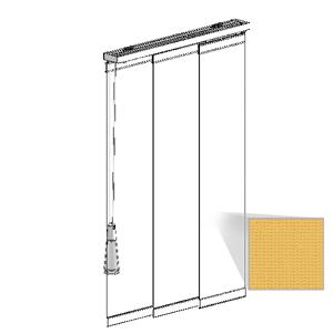 Μηχανισμός panel με ύφασμα SUNWORKER